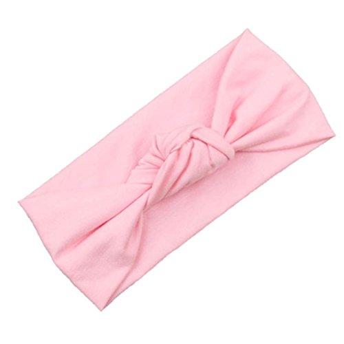 Fulltime(TM) Bébé Tout Filles Mignonnes Enfants Bow Headband Turban Knot Lapin Bandeau Cheveux Accessoires (C)