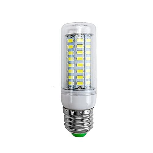 Lampada Mais 10pcs / lot. E27 LED. Lampada E14 LED. Lampadina SMD5730 220V. Bulbo di mais 24 36 48 56 69 7 2LE DS Chandelier Candela. GUIDATO Luce for la decorazione domestica (Color : Cold white)
