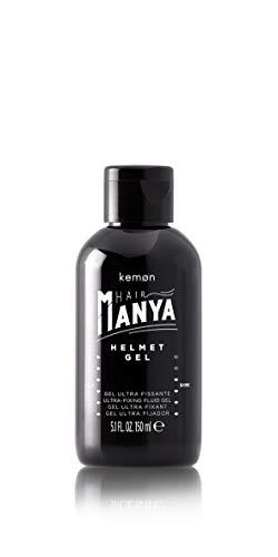Kemon Hair Manya Helmet Gel - alkoholfreies Haar-Gel für extra starken Halt, professionelles Hair-Styling für Ihn - 150 ml