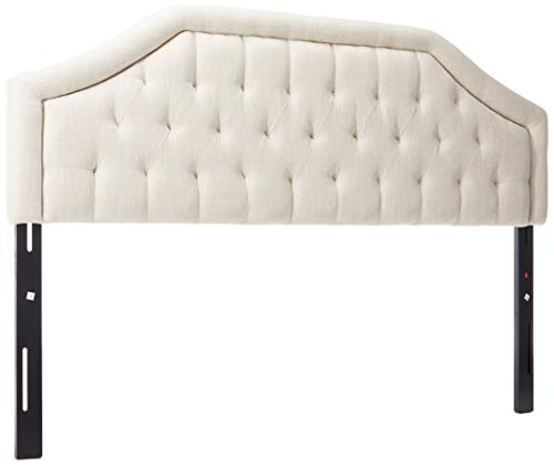 Christopher Knight Home Angelica Headboard, King / Cal King, Light Beige