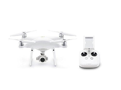 DJI Phantom 4 Pro V2.0, Inteligencia visionaria, Camera de 20 MP, Videos 4K, Tiempo de Vuelo de 30 Minutos, Color Blanco (1)
