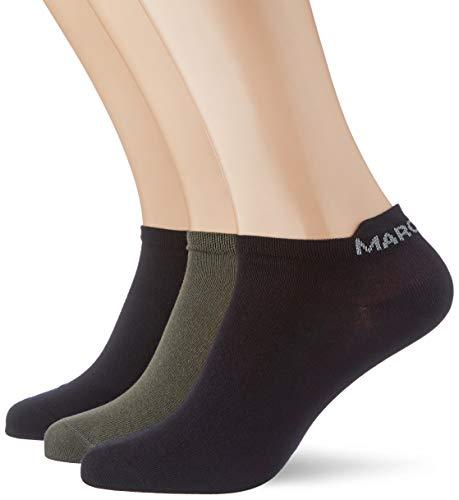 Marc O'Polo Body und Beach Herren Multipack M-SNEAKER 3-PACK Socken, Khaki (403), normal,39/42