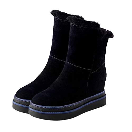 Botas de Nieve Gruesas cálidas de Invierno para Mujer, Calzado Informal Suave...
