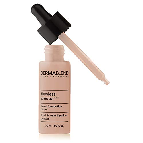 Dermablend Flawless Creator Lightweight Foundation, 40N: For light to medium skin with neutral undertones with a hint of pink, 1 Fl Oz