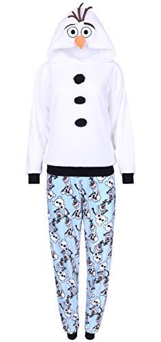 sarcia.eu Weiß-Blauer Pyjama Olaf Frozen Small