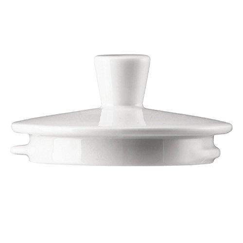 Arzberg Tric Deckel für Teekanne 1.15 L, Ersatz Teil, Ersatzteil, White, Porzellan, 49700-800001-14232