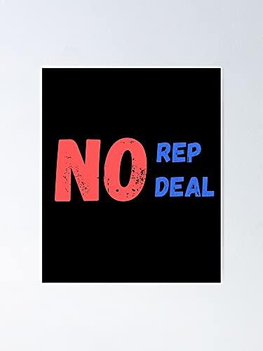 Situen Póster de No Rep Deal – para decoración de sala de juegos, imprimibles para niños, arte de pared de guardería, decoración de habitación para imprimir.