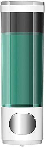 Cuarto de baño dispensadores de jabón for jabón líquido, montado en la pared del dispensador del jabón de baño jabón for manos botella de ponche doble rejilla dispensador de jabón de oro blanco 400 /
