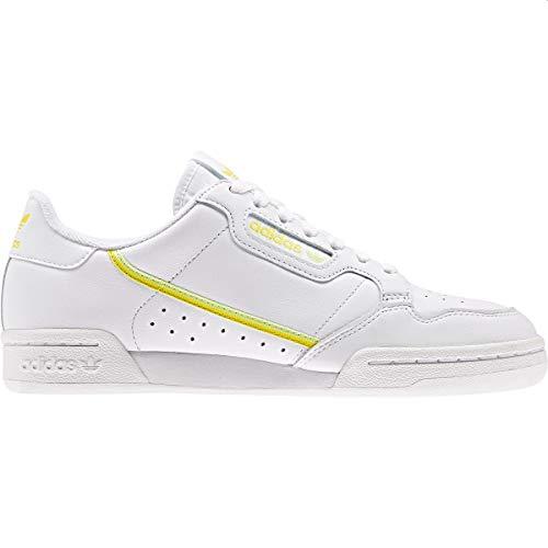 adidas Zapatillas Continental 80 W para mujer, color blanco, color, talla 41 1/3 EU