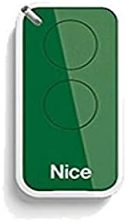 ONE NICE INTI2 negro 2-canales rolling code mando a destancia INTI transmisores. Compatible con FLOR-S FLORE 433.92Mhz rolling code