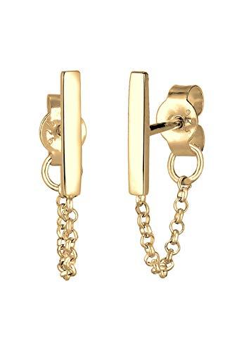 Elli Pendientes Collar femenino Trend Geo Basic en plata esterlina 925