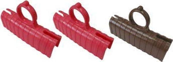 守っ手 Mamotte 3個セット ドアオープナー&つり革グリップの非接触アイテム 3個セット (ピンク・ピンク・ブラウン)