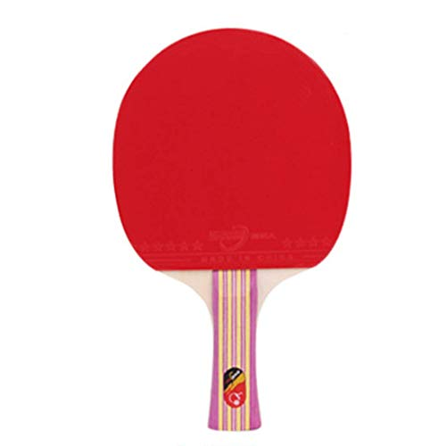 Read About HUATINGRHPP Ping Pong Table Tennis Racket Ping Pong Paddle Bat Comfortable Handle Excelle...