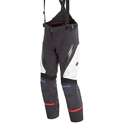 Dainese Motorradhose Antartica GTX Textilhose grau/schwarz/rot 48, Herren, Tourer, Ganzjährig