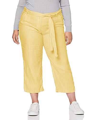 BRAX Style Maine Leinen Pantaloni, Limonata, 34W x 32L Donna