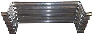 Construction Metals Fvw204-12 20X4x12 Foundation Vent Well - Quantity 1 Window Wells/Area Wall
