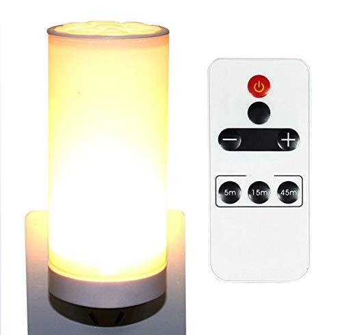 OMJNH LED afstandsbediening nachtlampje slaapkamer bedlampje Feeding plug-in kleine tafellamp sokkel lamp wandlamp nachtlampje