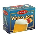 Bartenders Whiskey Sour Mix, 4.7 Ounce -- 6 per case.