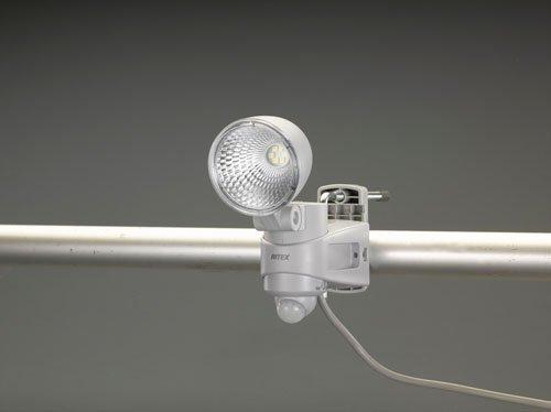 ESCO エスコ (AC100V/7Wx1)LEDセンサーライト EA864CA-38A