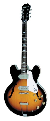 Epiphone CASINO Thin-Line Hollow Body Electric Guitar, Vintage Sunburst