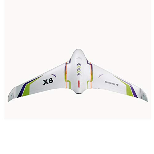 Wchaoen Skywalker X8 X8 Weiß FPV Fliegen-Flügel 2122mm Spannweite EPO RC Flugzeug KIT Werkzeugzubehör (Color : White)