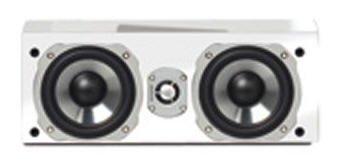 Quadral Center-Lautsprecher Chromium Style 5 Base Weiss