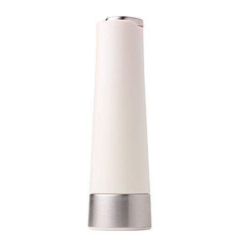 Chef'n RPM Ascent Pfeffermühle mit Keramik-Raspel und Kunststoffgehäuse Salz coconut