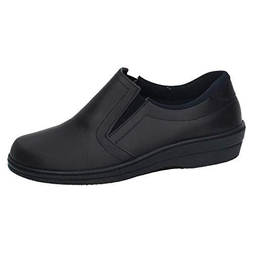 MADE IN SPAIN 18791 Zapato DE Trabajo Mujer Calzado Trabajo Marino 38