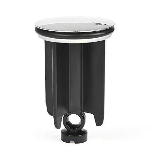 FOCCTS Tapones de Desagüe - ABS y Aleación de Aluminio Tapón de Fregadero Universal de 40 mm