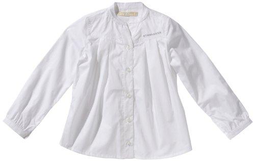Strenesse Kids Mädchen Bluse 63202, Gr. 152, Weiß (001 Bright White)