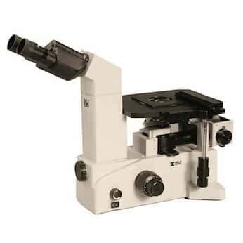 Meiji Techno IM7100/220 Inverted Microscope, Metallurgical, 220 VAC