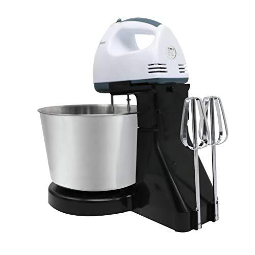 XF Batidoras de Varillas Batidor de Huevo Hogar eléctrico de Mesa Mini Beat Cream Egg White Noodle Blender Cake Baking Eggbeater - Negro Batidoras de Varillas y amasadoras