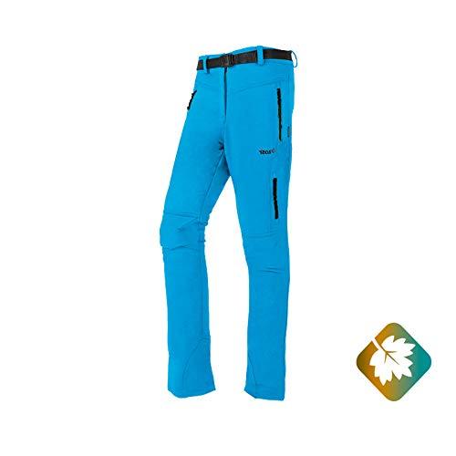 Izas Olca Pantalones Trekking, Mujer, Turquesa/Verde Claro, XL