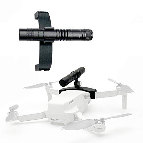 CUEYU LED-Licht für DJI Mavic Mini Drone,Nachtflug LED-Licht Taschenlampe Suchscheinwerfer für DJI Mavic Mini Drone (A)