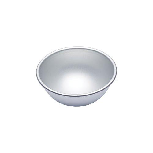 MasterClass 15.5 cm Hemisphere Cake Tin, Silver Anodised Aluminium, 6 Inch