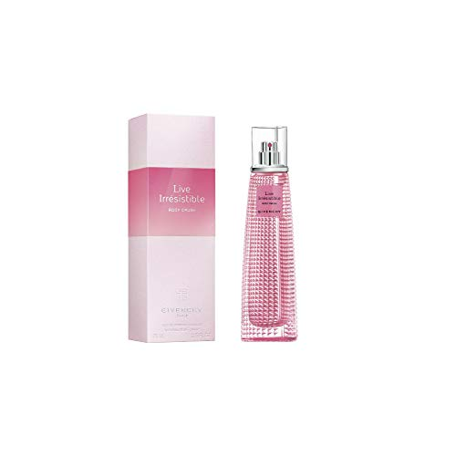 Givenchy Very Irresistible Live Rosy Crush for Women Eau de Parfum Spray 2.5 Ounces, clean