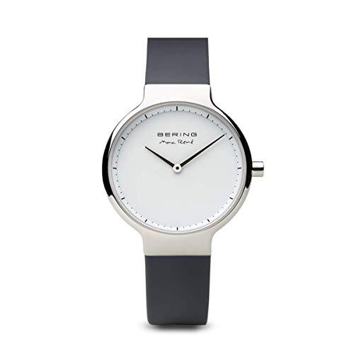 BERING Damen-Armbanduhr Analog Quarz Silikon 15531-400