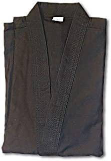 Tiger Claw 7.5 Oz Karate Uniform Light Weight Black Top Only