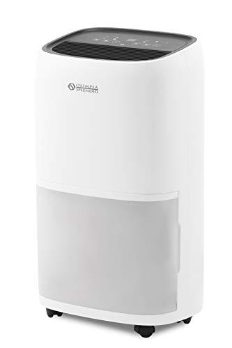 Olimpia Splendid 01970 Aquaria 22 P Deumidificatore 22 litri al giorno con Funzione Asciugabucato e Pure System, Gas Naturale R290, Bianco