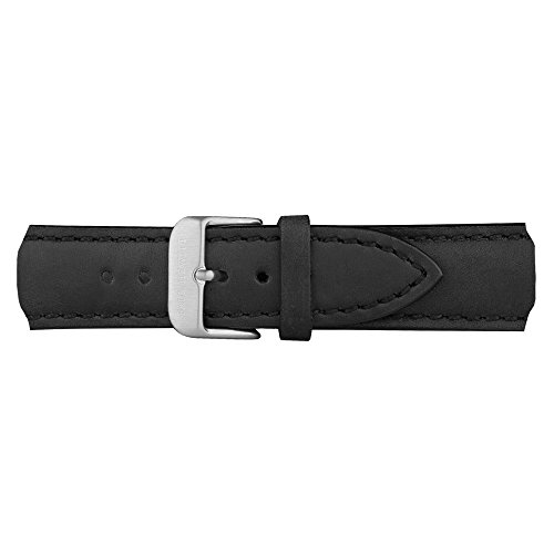 PAUL HEWITT Uhrenarmband Leder Schwarz 20 mm