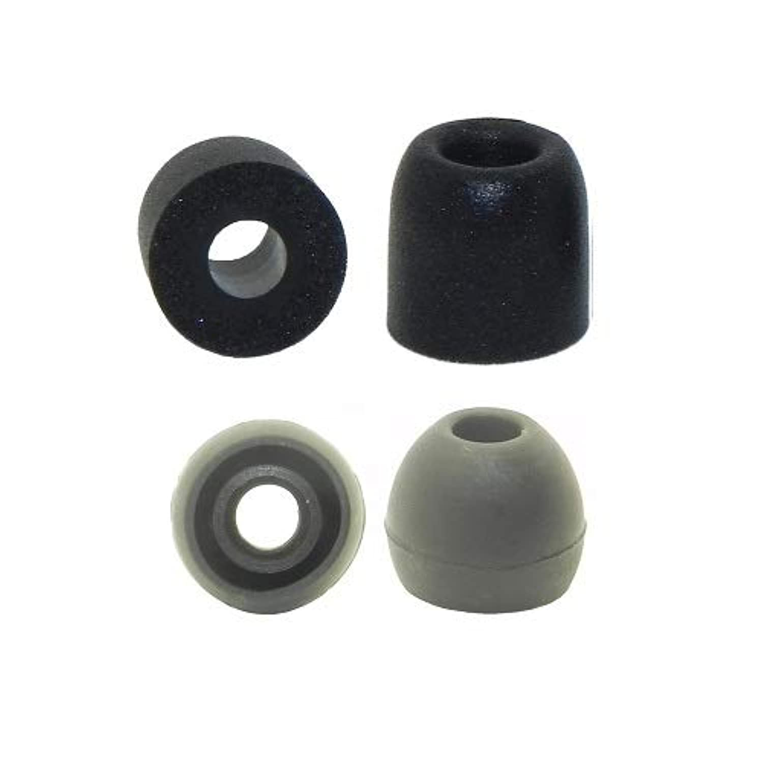 6 Pair Small Replacement Earbud Tips, eaphone Tips, Ear Tips for Mee Audio Meelectronics Earphone Models Listed Below