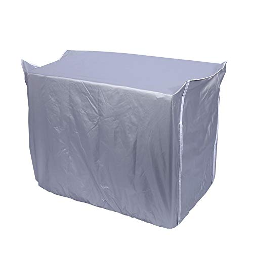 Garsent Klimaanlage Abdeckung, Staubdicht und Wasserdicht Schutzhülle für Klimaanlage(86 x 32 x 56cm)