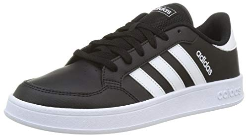 adidas BREAKNET, Scarpe da Tennis Uomo, Core Black/Ftwr White/Ftwr White, 43 1/3 EU