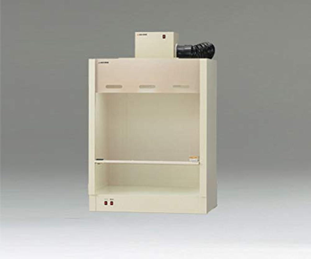 アズワン コンパクトドラフト700(PVC製)M型ファン付き CD7P-MFX/3-4056-28