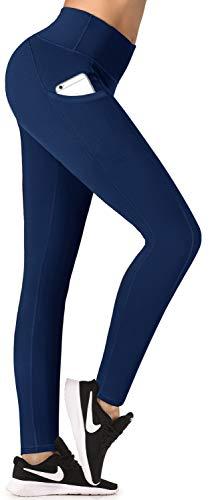IUGA Fleece Lined Yoga Pants with Pockets for Women
