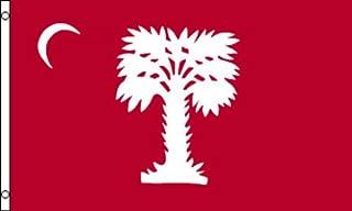 USA Premium Store Citadel Big Red Flag 3x5 South Carolina Civil War Palmetto Charleston Ft Sumter
