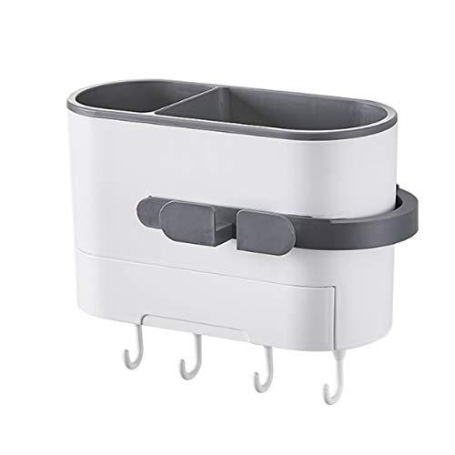 LJSF Estante de baño Estantes de baño Secador de Pelo Secador de Pelo Montado en la Pared Spoces Spices Shower Almacenamiento de Almacenamiento Rack Organizador Adhesivo para baño para baño y Cocina