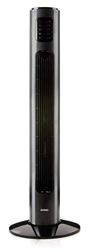 Domo Ventilateur Noir 90 cm
