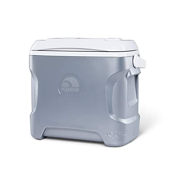 Igloo 28 Quart Iceless Thermoelectric 12 Volt Portable Ice Chest Beverage Cooler,...