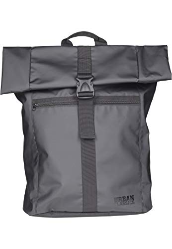 Urban Classics Folded Messenger Backpack Zaino Casual, 68 cm, 18 liters, Nero (Black)